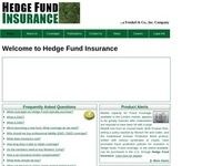 Hedge Fund Insurance, a division of Frenkel & Co.