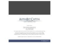 AlphaBet Capital Advisors Ltd