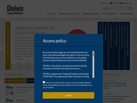 Daiwa Securities Global Asset Services