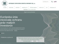 CDCP SR, a.s.(Central Securities Depository of the Slovak Republic)