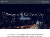 Lek Securities Corp